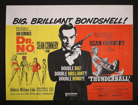 JAMES BOND: DR NO/FROM RUSSIA WITH LOVE / GOLDFINGER / THUNDERBALL