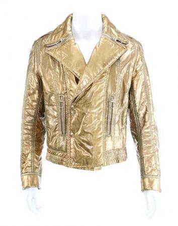 BUCK ROGERS IN THE 25TH CENTURY (1979 - 1981) - Captain Buck Rogers' (Gil Gerard) Gold Futuristic Jacket