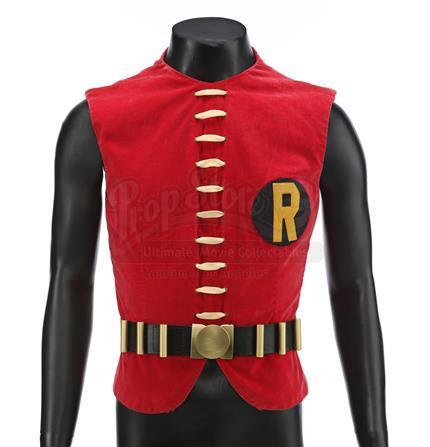BATMAN (1966 - 1968) - Robin The Boy Wonder's (Burt Ward) Production-Made Vest