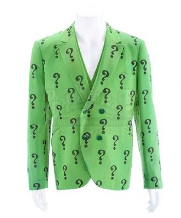 "BATMAN (1966 - 1968) - Riddler's (Frank Gorshin) ""?"" Green Suit Jacket and Vest"