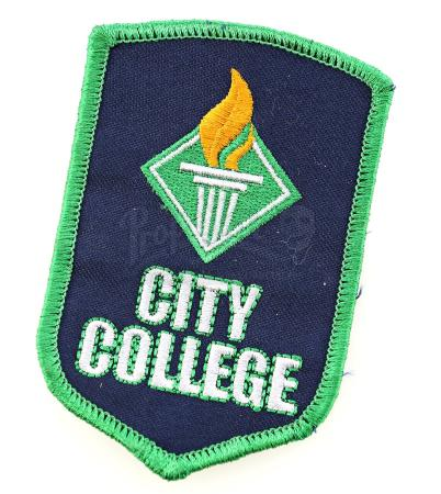 "Lot # 6 - S1E09 - ""City College Debate Team Patch"": City College Debate Team Patch"